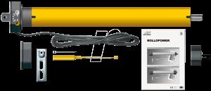 نمونه موتور توبولار کرکره برقی قابل غرضه توسط آچیلان در